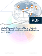 Global Wearable Sensors Market (2017-2024)- Research Nester