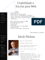 Aula07 Usabilidade Escrevendo Web
