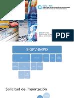 Presentación del nuevo Sistema de Importación de Productos de Origen Vegetal del SENASA.