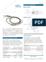 Temperature Sensor TS-FM01-K Rev1 03.31.2017