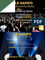 Dossier de Presse Sakifo 2017