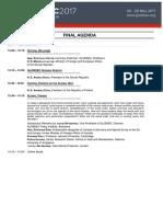 Globsec 2017 Final Agenda