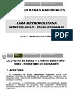 334802 Becas Nacionales Integrales 2010-II