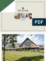 Cedar Court Hotel Huddersfield Wedding Brochure