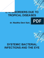 K37 - Eye Disorders Due to Tropical Diseases