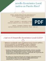 Es el Desarrollo Económico Local Una Alternativa