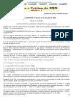 Lei Complementar n 116 de 31 de Julho de 2003