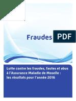 Lutte contre la fraude CPAM de Moselle