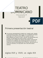Teatro dominicano