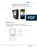 Configuracion p2p de Video Portero Ip Opiz