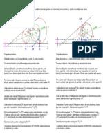 Circunferencias Tangentes a Otra y a Dos Rectas Concurrentes