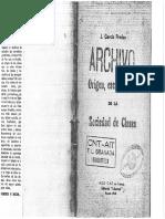 Origen, Esencia y Fin de La Sociedad de Clases - Garcia Pradas