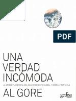 Una Verdad Incomoda Al Gore (Spanish Español) eBook Libro
