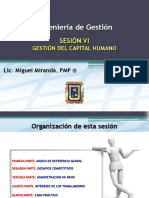 Sesion Vi - Ingenieria de Gestion - Gestion Del Capital Humano v1_0