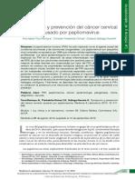 Tamizacion y Prevencion Papolomavirus