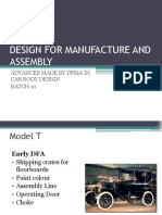167104820 Design for Manufacture and Assembly Pptx