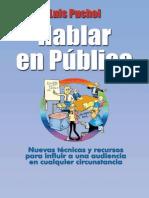 Hablar en Publico - Luis Puchol