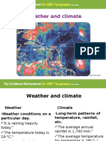 C6 Weather & Climate CXC Geography