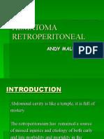 Hematoma Retroperitonel