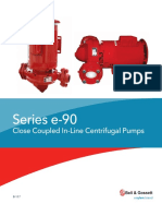 Bell Gossett Series e 90 Close Coupled in Line Centrifugal Pumps Brochure