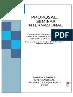 Proposal Seminar Internasional