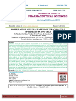 FORMULATION AND EVALUATION OF ITRACONAZOLE OPTHALMIC IN SITU GELS