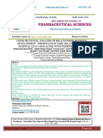 CROSS-SECTIONAL ANALYSIS OF RELATIONSHIP BETWEEN DEVELOPMENT - PRESENTATION TIME DELAY AND MEAN HOSPITAL STAY ASSOCIATED WITH PUERPERAL SEPSIS