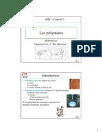MEC200 Cours 12 Polymeres Et Composites Gr2 Hiv2011