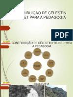 Apresentação Contribuição de Célestin Freinet Para a Pedagogia