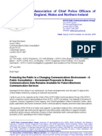 ACPO Data Communications Group Submission