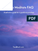 How to Meditate - Tara Brach
