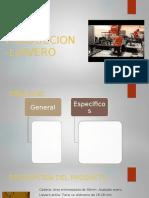 Plan de Produccion -Llavero