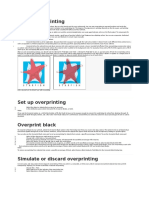 About Overprinting