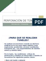 9.- Perforación Túneles (2)