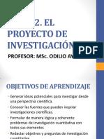 """TEMA 2. EL PROYECTO DE INVESTIGACIÃ""""N.pdf"""