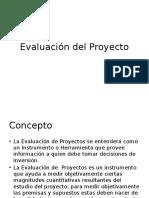 Formulacion y Evaluacion de Proyectos 8- Evaluacion Del Proyecto 45337 (1)