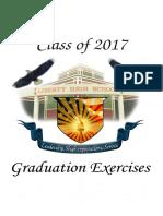 Liberty High School graduation program 2017