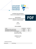 A.cim Group Project Log Book