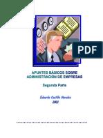 Apuntes Básicos Sobre Administración de Empresas Segunda Parte 2001