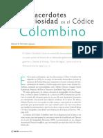 Ritos, Sacerdotes y Religiosidad en El Codice Colombino