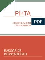 Interpretacion Cuestionarios de Orientacion Vocacional PINTA