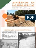 Geosintéticos en Obras Hidraulicas