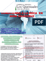 Conociendo a La Roca en Mina Iscaycruz