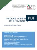 Tercer Informe Guillermo Comunicacion