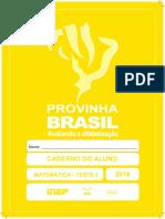 Caderno Do Aluno Matematica 2016-2