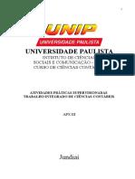 Aps 3º Semestre Unip 01062013 Feito