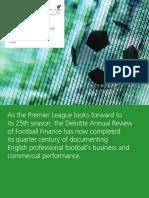 Deloitte Uk Annual Review of Football Finance 2016