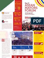 Asean Mayors Forum- Final Rev