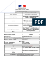 Cg Rabat Fiche Appel a Candidature - Agent Visas - 01.08.2017