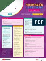 Afiche Programacion Lima y Callao - Semana Diversidad Cultural y Linguistica